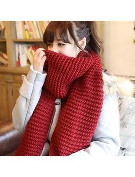 Pompabee   Chunky Knit Scarf by Pompabee