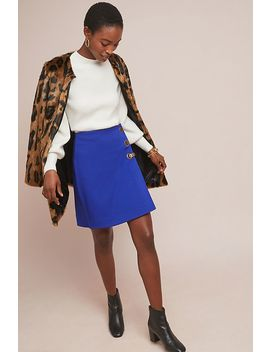 Monae Structured Mini Skirt by Maeve