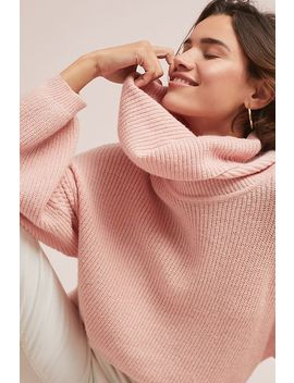 Cambridge Cowl Neck Pullover by Selected Femme