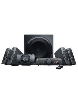 Logitech Z906 Stereo Speakers 3 D 5.1 Dolby Surround Sound, 1000 W by Logitech