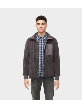 Lucas Sherpa Zip Up by Ugg