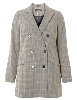 Multi Coloured Heritage Checked Blazer by Dorothy Perkins