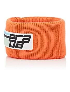 Rib Knit Wool Headband by Prada