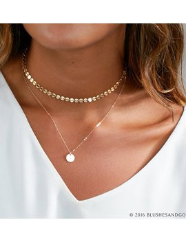 Dainty Choker Necklace, Gold Choker, Choker Necklace, In Sterling Silver, Gold Filled, Perfect Layering Necklace by Etsy