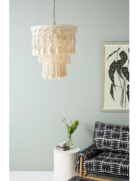 Lana Macrame Chandelier by Anthropologie