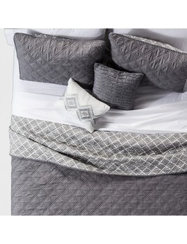 5pc Cole Stitched Chambray Quilt Set by Target
