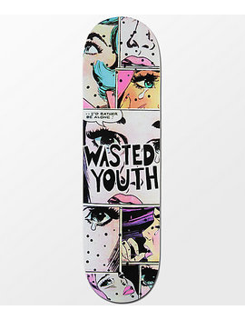 "Blackout Wasted Youth Alone 8.5"" Skateboard Deck by Blackout"