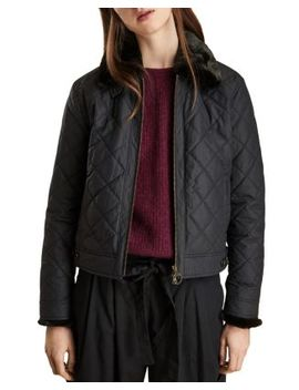 Tetbury Cropped Quilted Jacket by Barbour