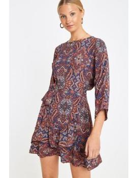 Uo Paisley Wrap Dress by Urban Outfitters Shoppen
