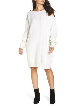 Marik Crème Sweater Dress by Caara