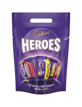 Cadburys Heroes Pouch 400g Cadburys Heroes Pouch 400g by Wilko