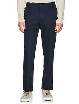 Cotton Twill Slim Trousers by Maison Margiela