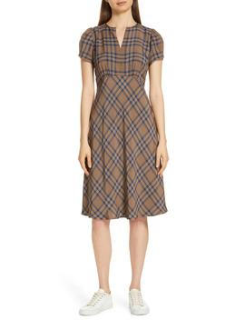 Check Dress by Nordstrom Signature