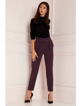 Lipsy Tailored Belted Trousers by Next