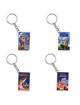Disney Animated Feature Mystery Vhs Keychain   Oh My Disney by Disney