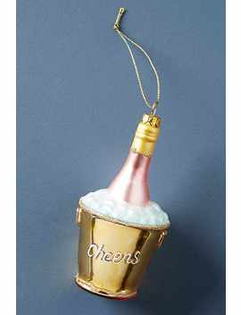 Champagne Bucket Ornament by Anthropologie