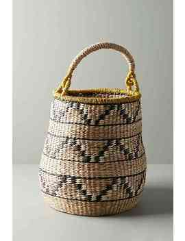 Handmade Tambourine Basket by Anthropologie