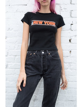 Hailie New York Top by Brandy Melville