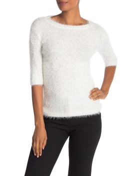 Feather Neck Pullover by Catherine Catherine Malandrino