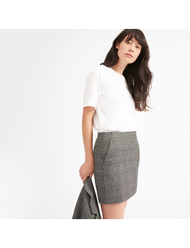 The Wool Mini Skirt by Everlane