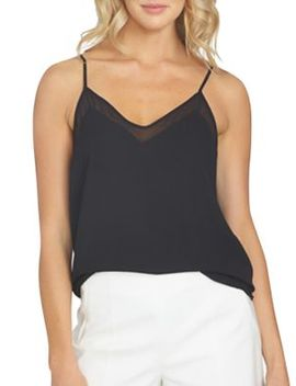 Solid V Neck Camisole by 1.State