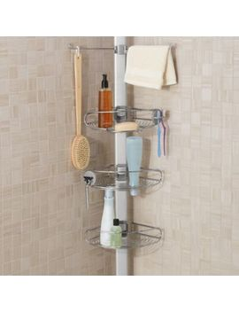 Simplehuman® Stainless Steel Tension Shower Caddy by Bed Bath & Beyond