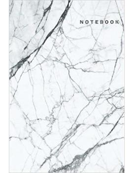Notebook: White Marble Notebook Dot Grid Notebook, A5 Dotted Notebook Journal, Dairy, 120 Pages White Marble Composition Notebook V.4 by Amazon