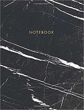 Notebook: Classic Black And White Marble With Gold Lettering   Marble & Gold Journal | 150 College Ruled Pages | 8.5 X 11   A4 Size (Marble And Gold ...   Journal, Notebook, Diary, Composition Book) by Amazon