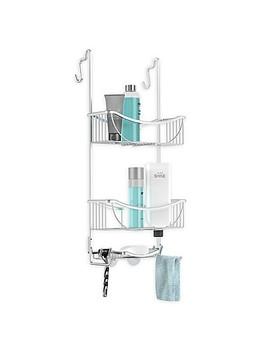 Better Living 3 Tier Aluminum Over The Door Shower Caddy by Bed Bath & Beyond