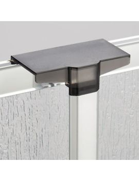 Interdesign Over Shower Door Aluminum Caddy In Silver by Bed Bath & Beyond