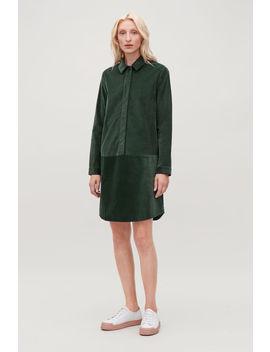 A Line Corduroy Shirt Dress by Cos