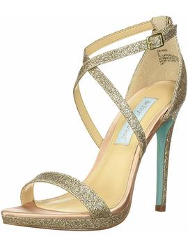 Blue By Betsey Johnson Women's Sb Andi Heeled Sandal by Blue By Betsey Johnson