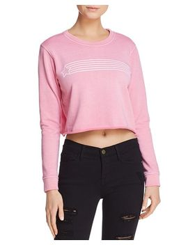 Star Streak Cropped Sweatshirt   100 Percents Exclusive by Desert Dreamer