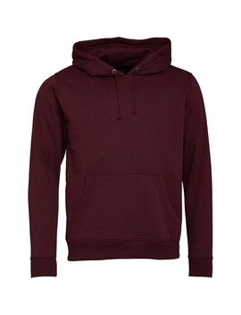 Brave Soul Mens Clarence Hoody Burgundy by Mand M Direct