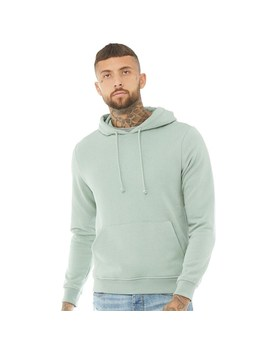 Brave Soul Mens Clarence Hoody Mint Green by Mand M Direct