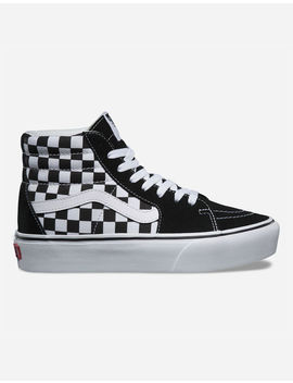 Vans Sk8 Hi Platform 2.0 Checkered Womens Shoes by Vans