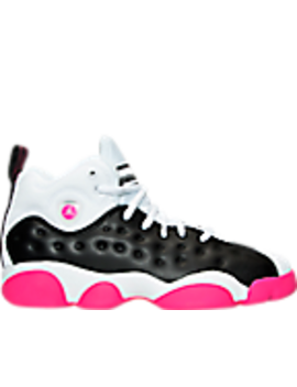 Girls' Grade School Jordan Jumpman Team Ii (3.5y 9.5y) Basketball Shoes by Nike