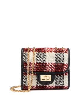 Plaid Crossbody Bag by Urban Expressions