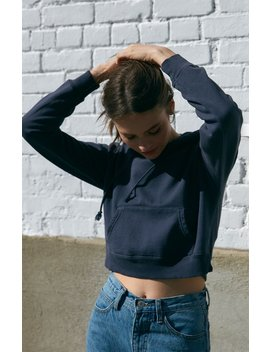 John Galt Pullover Cropped Hoodie by Pacsun