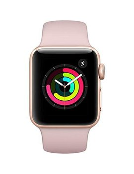 Apple Watch Series 3   Gps   Gold Aluminum Case With Pink Sand Sport Band   38mm by Apple