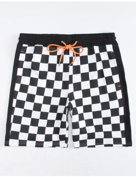 Elwood Checker Mens Sweat Shorts by Elwood
