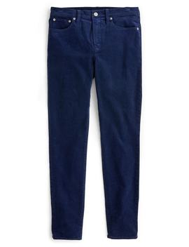 High Rise Toothpick Corduroy Jeans by J.Crew