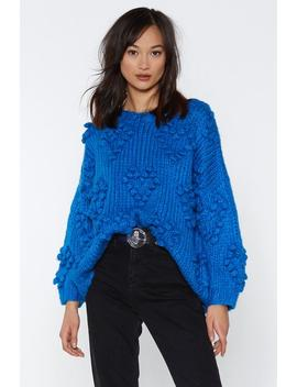 Handknitted Bobble Jumper by Nasty Gal