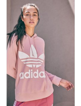 Adidas Pink Trefoil Hoodie by Pacsun