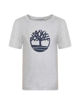 Children Boys Logo T Shirt by Timberland