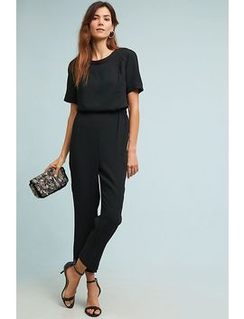 Allegory Textured Jumpsuit by Cartonnier