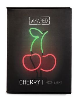 Cherries Neon Desk Lamp by Amped And Co