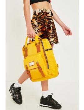 Doughnut Macaroon Yellow Backpack by Doughnut