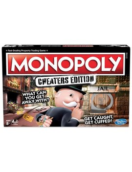 Monopoly Game: Cheaters Edition From Hasbro Gaming by Argos