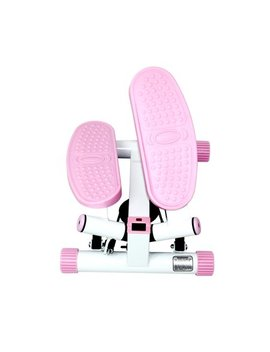 Sunny Health & Fitness P8000 Pink Adjustable Twist Stepper Step Machine W/ Lcd Monitor by Sunny Health & Fitness